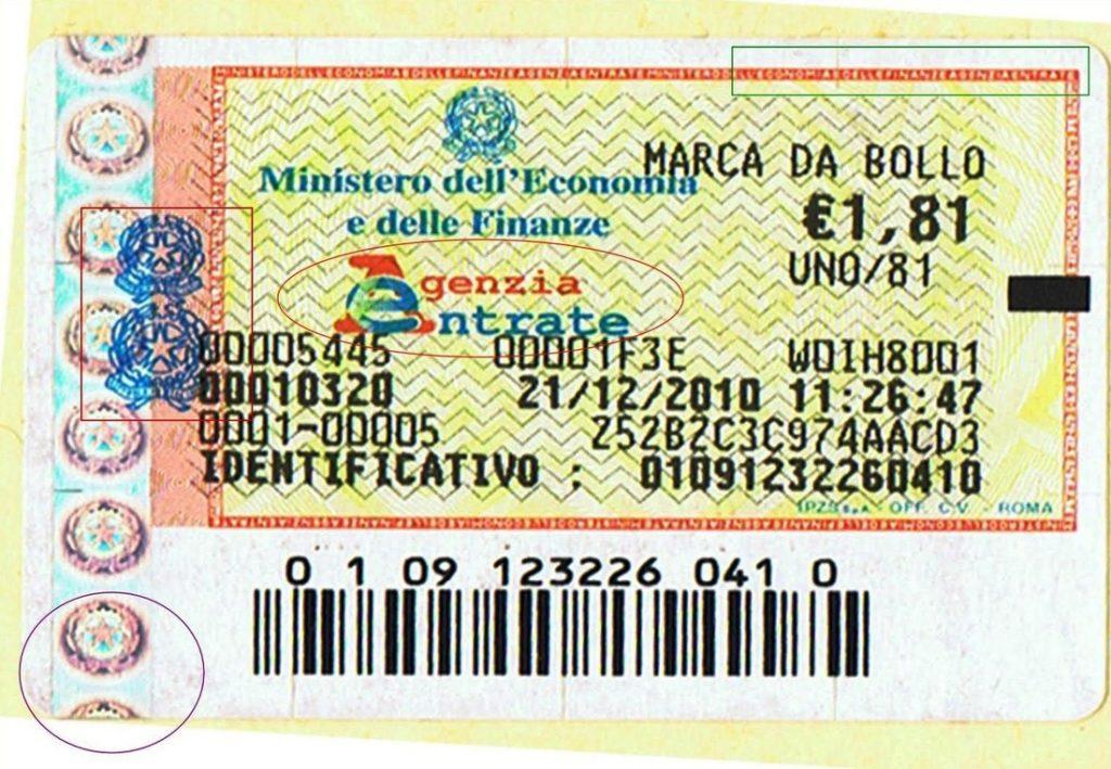L'imposta di bollo passa da 1,81 a 2 euro